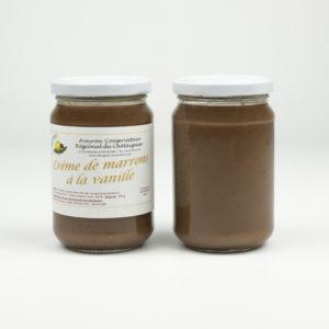 Crème de marrons à la vanille
